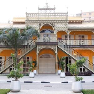 Palcaio de Ferro landmark in Luanda, Angola