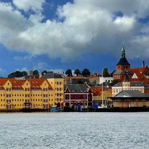 City skyline of Svendborg