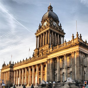 Leeds Town Hall building