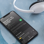 VICTVS Podcast on iphone - listening
